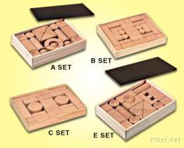軟木積木禮盒