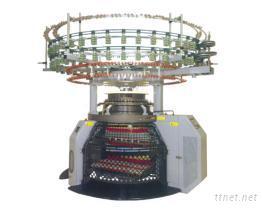单面自动变色彩条(电子控制)针织机