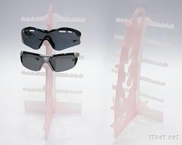 塑膠眼鏡展示架-免螺絲、1秒完成組裝