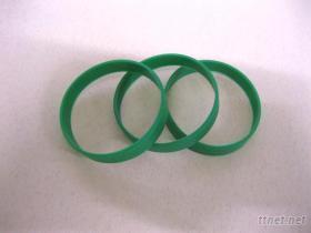 矽膠手環綠色, 運動手環, 發光手環