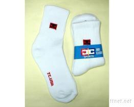 毛巾運動襪
