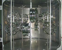 立式双门铝圈溅镀机