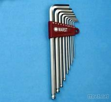 L型特长球形六角扳手(Extra Long Ball Hex Key Wrench Set)