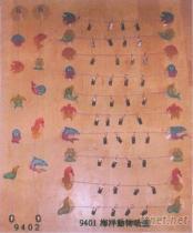 海洋動物吸盤夾