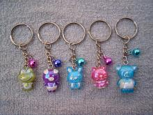 可愛動物鑰匙圈