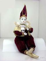 陶瓷娃娃-小丑