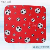 AW-024_红底足球鼠标器垫