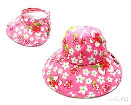 水蜜桃布料帽身/帽眉可拆式大盤帽
