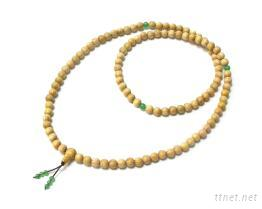 108粒木珠鍊