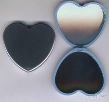 心型雙鏡盒