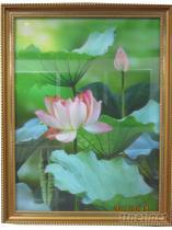 3D立體直蓮花掛畫/ 家飾品/ 廣告看板