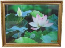 3D立體蓮花掛畫/ 廣告看板/ 家飾品