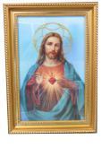3D立體耶穌聖心掛畫/天主教/基督教