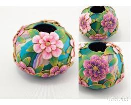 花瓶作品-黏土