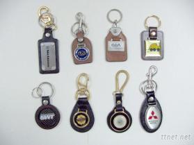 皮革钥匙圈