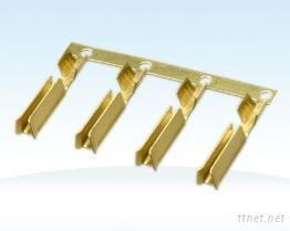 2X4 U型 品字尾铜管端子