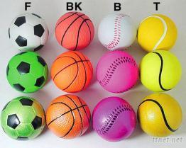 橡膠發泡球 - 足球/籃球/網球/棒球 (Rubber Sponge Balls)
