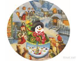 雪人跟朋友 - 拼图