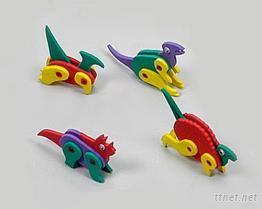 EVA泡棉-恐龙益智玩具