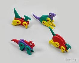 EVA泡棉-恐龍益智玩具