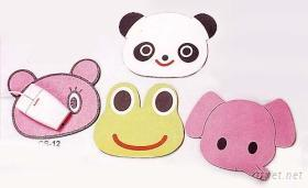 滑鼠墊-動物造型滑鼠墊