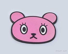 鼠标器垫-小熊造型鼠标器垫
