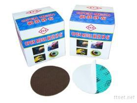 自黏式半面網格砂布(Self-Adhesive Semi-Shape Netted Abrasive cloth)
