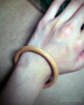 無接縫皮手環