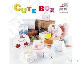 DIY可爱 3-D 纸盒