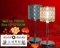 宮廷式壓克力水晶檯燈