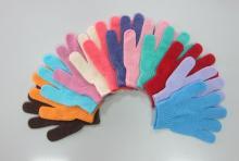 (五指型)沐浴手套