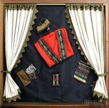 原住民緹花織帶