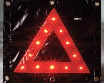 LED三角故障架