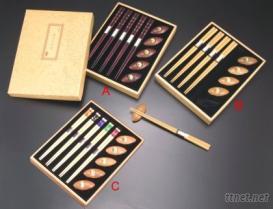 五福臨門筷盒組