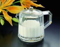 鑽石切面奶罐