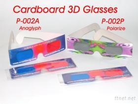 3D立體紙眼鏡