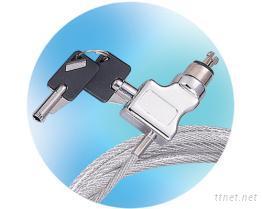 卷曲电缆锁