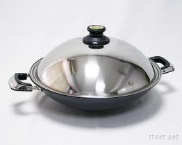 (雙耳)瓷釉黑金鍋