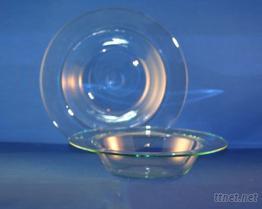 圓形餐盤(玻璃餐具)