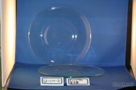 圓淺餐盤(玻璃餐具)