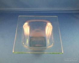 長方形玻璃盤