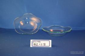 梅花小餐盤(玻璃餐具)