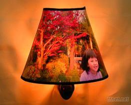 客製化-畫作式小夜燈(大圓錐型)