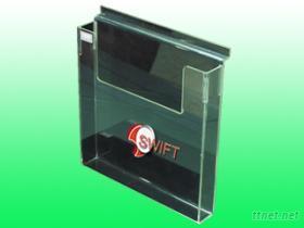 壓克力DM架, 合槽板壓克力盒, 展示盒