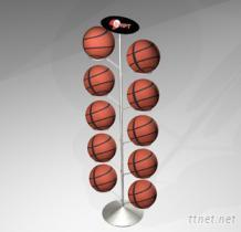 足球, 篮球旋转展示架