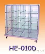 雙面玻璃櫃