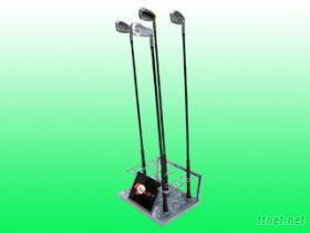 高爾夫球桿盒, 陳列球桿架, 球桿展示架
