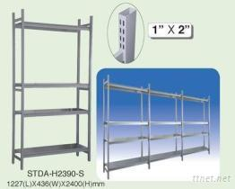 (含四個層板)扁管倉儲架