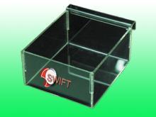 壓克力球頭盒, 陳列掛鉤展示盒