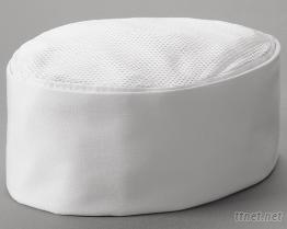 (附網) 廚師船型白帽